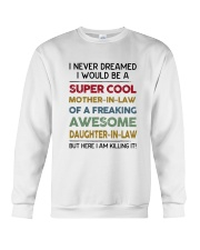 Never Dream Super Cool Crewneck Sweatshirt thumbnail