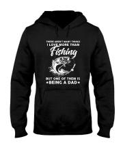 Being Dad More Than Fishing Hooded Sweatshirt thumbnail