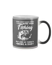 Being Dad More Than Fishing Color Changing Mug thumbnail
