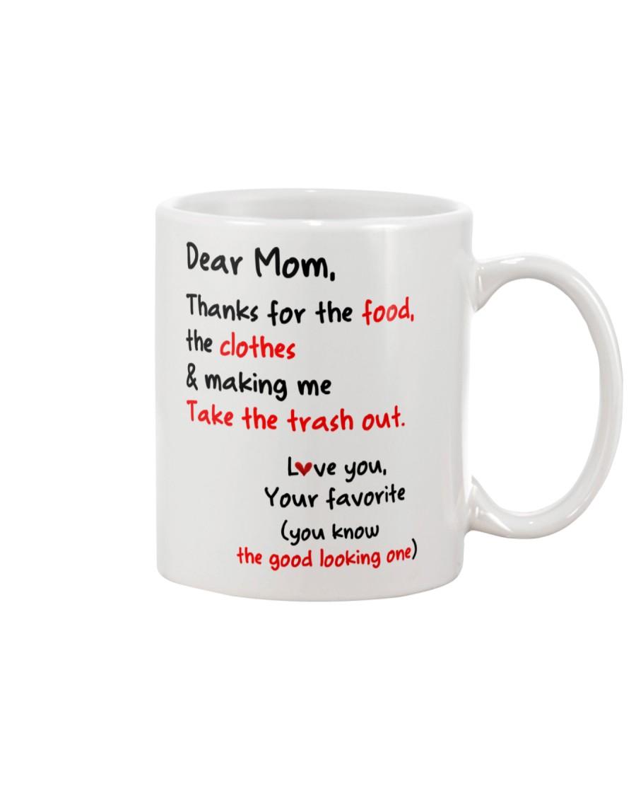 Mom Thanks For Food Clothes Mug