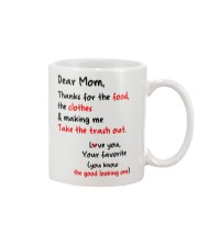 Mom Thanks For Food Clothes Mug front