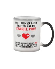 You Are My Favorite Mom Color Changing Mug thumbnail