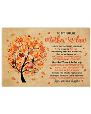 To My Future Mother-in-law 17x11 Poster front