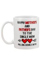To The Single Mom Mug back