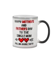 To The Single Mom Color Changing Mug thumbnail