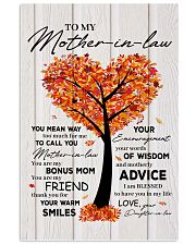 To My Mother-in-law 11x17 Poster front