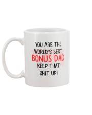 Best Bonus Dad Mug back