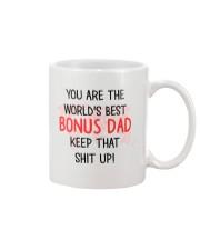 Best Bonus Dad Mug front