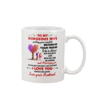 To My Gorgeous Wife  Mug front
