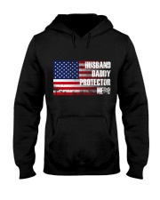 Husband Protector Hooded Sweatshirt thumbnail