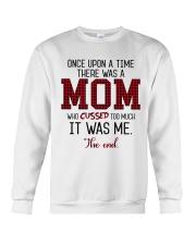 Once Upon A Mom Cuss Crewneck Sweatshirt thumbnail