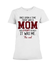 Once Upon A Mom Cuss Premium Fit Ladies Tee thumbnail