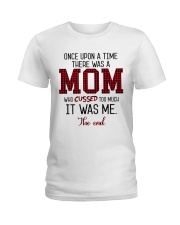 Once Upon A Mom Cuss Ladies T-Shirt thumbnail
