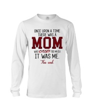 Once Upon A Mom Cuss Long Sleeve Tee thumbnail