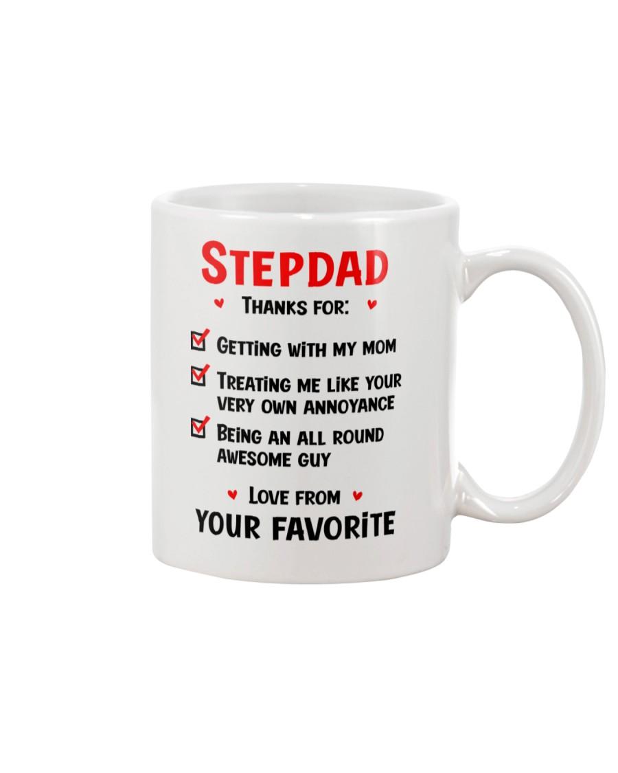 Stepdad Thanks For Checklist Mug