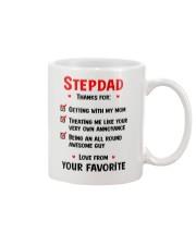 Stepdad Thanks For Checklist Mug front