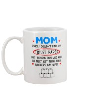 Couldn't Find Any Toilet Paper Mug back