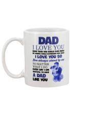 Love Dad More Than You Could Mug back