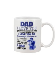 Love Dad More Than You Could Mug front