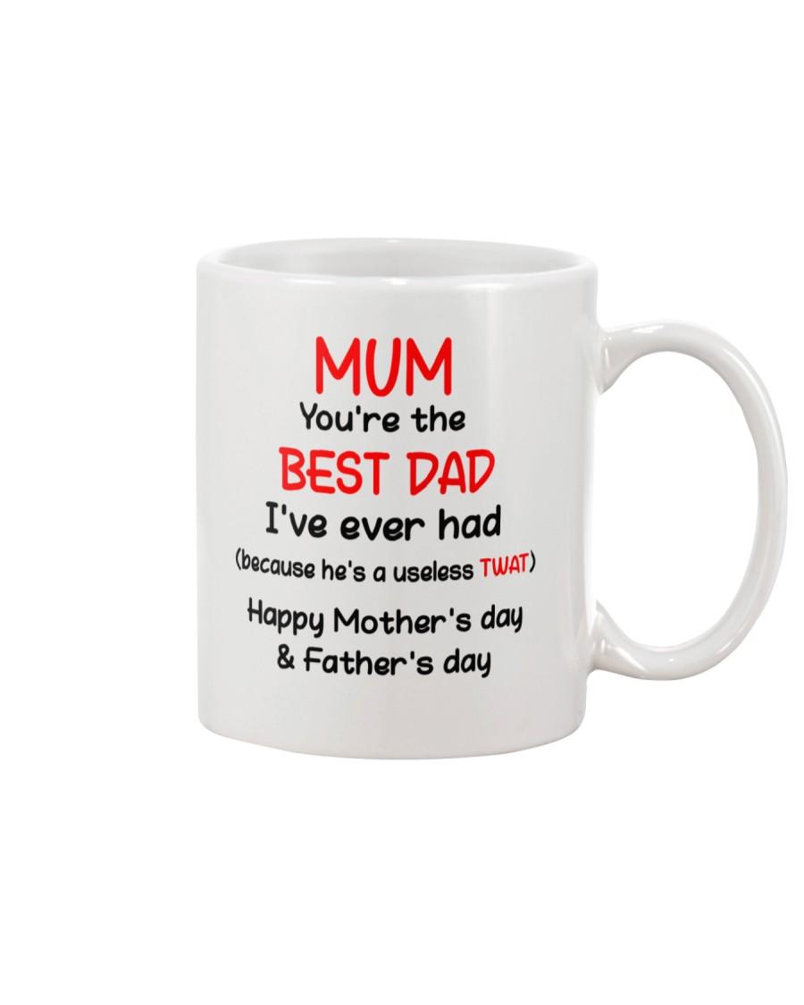 MUM YOU'RE THE BEST DAD AUS Mug