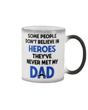 Not Believe In Heroes Color Changing Mug thumbnail