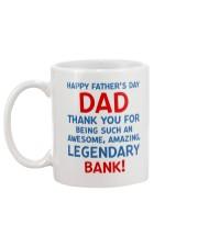 Legendary Bank Mug back
