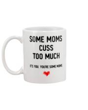 Some Moms Cuss Mug back