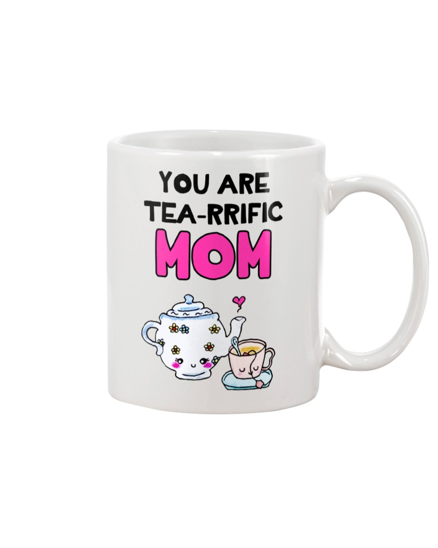 Tea-rrific Mom Mug