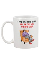 Dad On The Sofa Aus Mug back