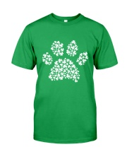 Dog Paw Clover Classic T-Shirt front