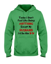 Do Anything Do Him Hooded Sweatshirt thumbnail