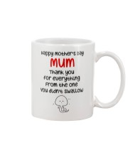 From One Didn't Swallow Mug front