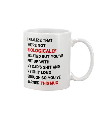 Stepmom You've Earned This Mug