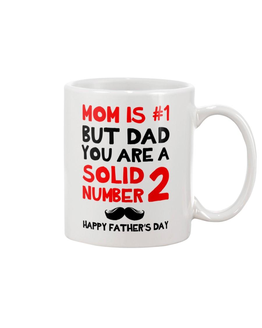 Dad Solid Number 2 Mug