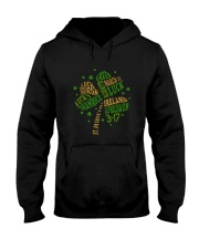 Shamrock Typography Hooded Sweatshirt thumbnail