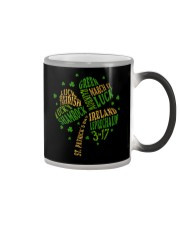 Shamrock Typography Color Changing Mug thumbnail