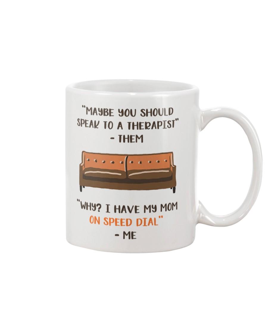 Mom On Speed Dial Mug