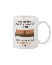 Mom On Speed Dial Mug front