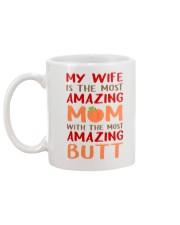 Wife Amazing Mom  Mug back