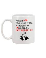 Token Of Love And Poverty Mug back