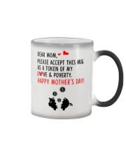 Token Of Love And Poverty Color Changing Mug thumbnail