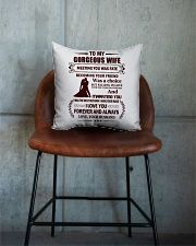 Falling In Love With You I Had No Control Square Pillowcase aos-pillow-square-front-lifestyle-04