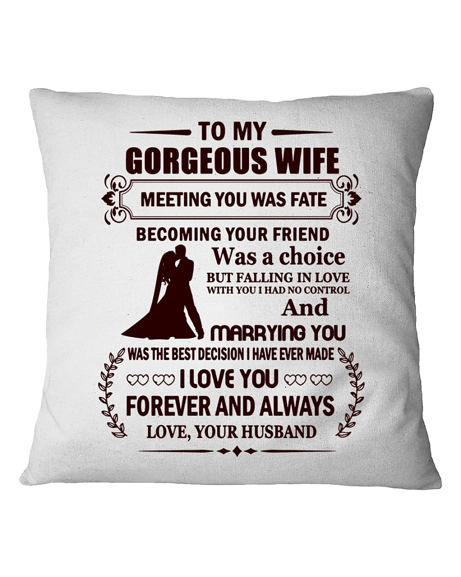 Falling In Love With You I Had No Control Square Pillowcase