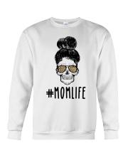 Skull Momlife Crewneck Sweatshirt thumbnail
