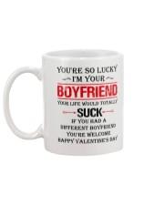 You're So Lucky I'm Your  Boyfriend Mug back