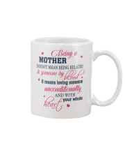 Being A Mother - Stepmom Mug front