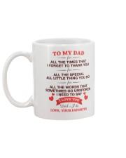 I Love You  Mug back