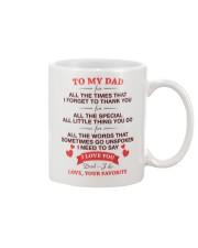 I Love You  Mug front
