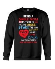 Single Mom  Crewneck Sweatshirt thumbnail