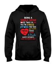 Single Mom  Hooded Sweatshirt thumbnail